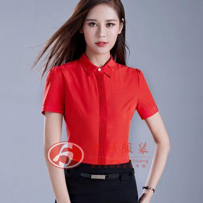 正装女衬衫 北京衬衫厂 衬衫定做 韩版女式衬衫 环诚制衣