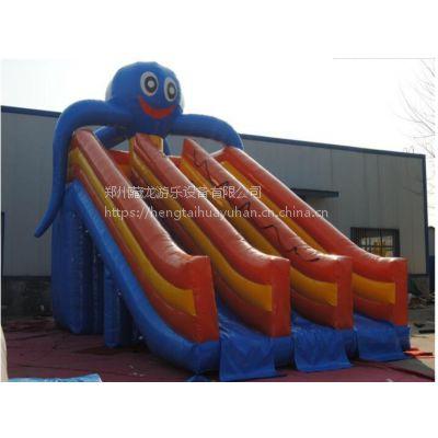 儿童充气大象水上滑梯 水上乐园户外充气滑梯水池组合 直销定做各种水上滑梯