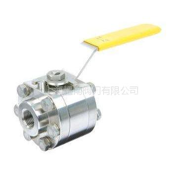 3/8NPT螺纹手动球阀 6000psi高压气源、液压管路专用 上海疆南阀门生产制造