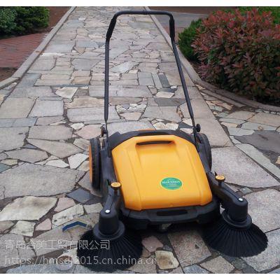 合美手推式不用电无动力扫地机手推扫地车工厂车间清扫车HM980