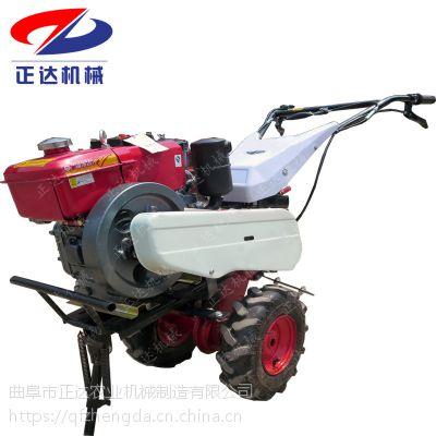 四冲程旋耕机 两驱小型除草多用途旋耕机