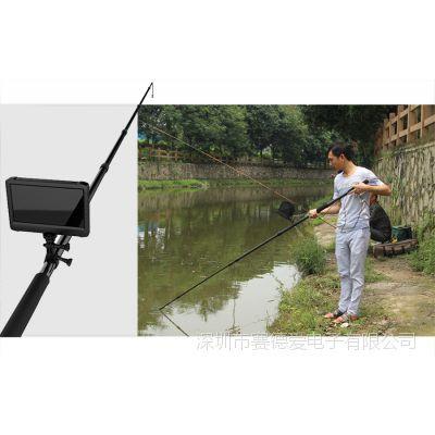5MP数字高清便携式水产养殖专用检测仪 5米伸缩杆 带灯可视