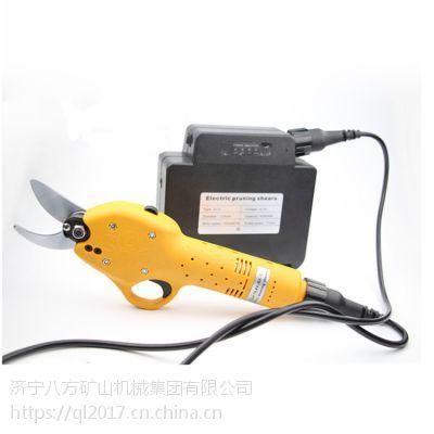 工业级电动果树剪刀电动修枝剪刀树枝剪园林电动高枝修枝剪电动剪