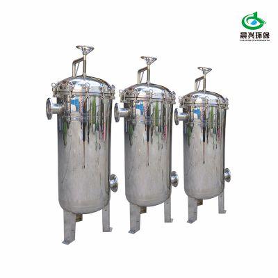 晨兴环保厂家直销 糖水袋式过滤器 安装简易 来电咨询