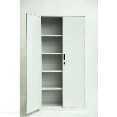 供应上海悦贸对开门铁皮柜钢制文件柜档案柜资料柜办公家具