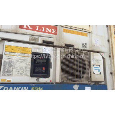 中港冷冻柜车队承接广东到香港冷藏车运输(实力车队保障用车服务)