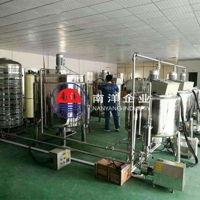 广州南洋企业全自动10头奶茶果汁饮料自动灌装机械规格齐全质量保证