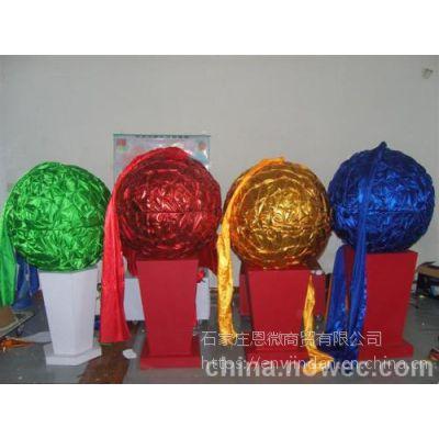 店铺装饰吊饰 企业开业庆典 抽奖道具 开合金球 开合彩球