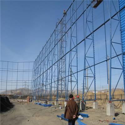 防风固沙网生产 防风抑尘网钢结构 铝板冲孔网规格