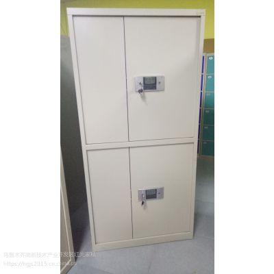 供应乌鲁木齐国宝锁通体双节电子保密文件柜