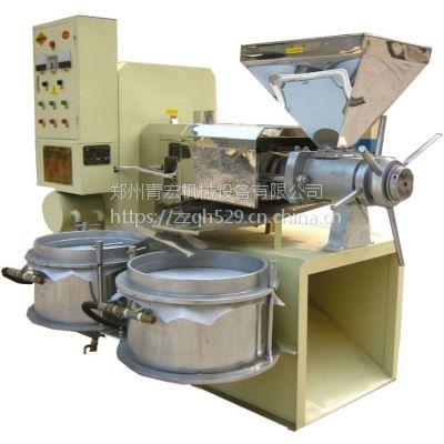 批发大型全自动商用螺旋榨油机多功能电动液压榨油机