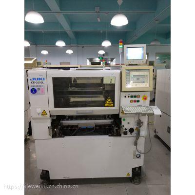 KE-2050中速贴片之王 进口高精度 9成新 状态良好 JUKI贴片设备 火热销售和产线合理规划