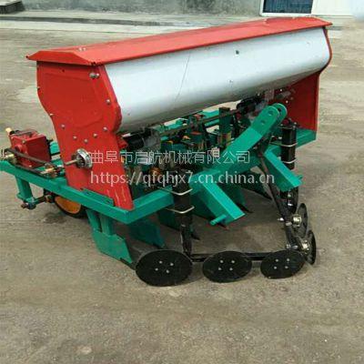 全新谷物蔬菜播种机 小麦大豆播种机 拖拉机带动谷子精播机