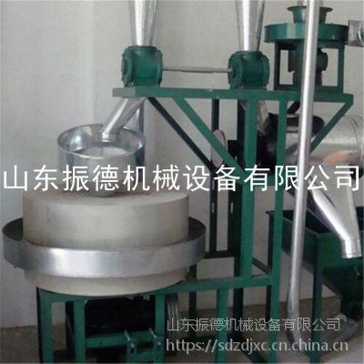 三亚玉米青裸面石磨机 振德 多用途荞麦石磨机 低温加工 大豆小麦面粉机