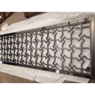 不锈钢屏风隔断 承接酒店不锈钢制品工程 江苏酒店屏风 金属屏风