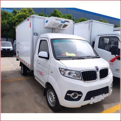 3吨冷藏运输车推荐东风蓝牌冷藏车价格
