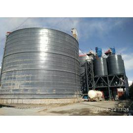 安徽专业设计安装生产焊接钢板仓 水泥储存罐 粉煤灰储存仓选择正阳钢板仓