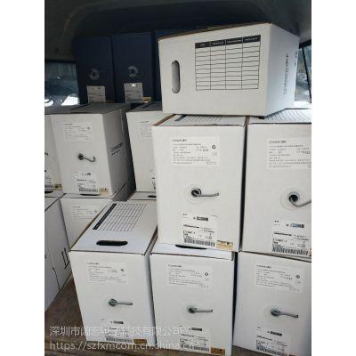 深圳 安普网联超五类非屏蔽白箱网线6-219507-4(原安普品牌)