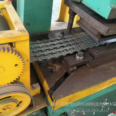 网蛇腹式刀片防护刺绳机 不锈钢材质刺丝加工机器