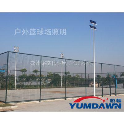 运动健身篮球场是选择,篮球场照明设施更必不可少