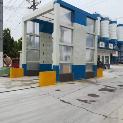 郑州经开区工地大棚洗车机NRJ-6.0米生产制作厂家