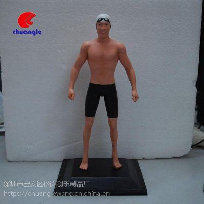 树脂肌肉男公仔出口外贸摆件运动员人物