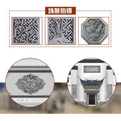 青岛砖雕收藏青砖砌块仿古砖雕