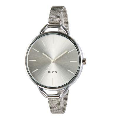 厂家批发网带休闲时尚女士手表合金石英表腕表