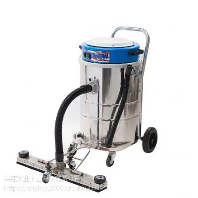 三马达商用不锈钢吸尘器 洁力德K70 干湿两用 70L工业级大容量