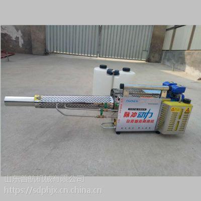 农药喷淋烟雾机 双管背负式烟雾机 一键启动的多功能汽油打药机 普航机械