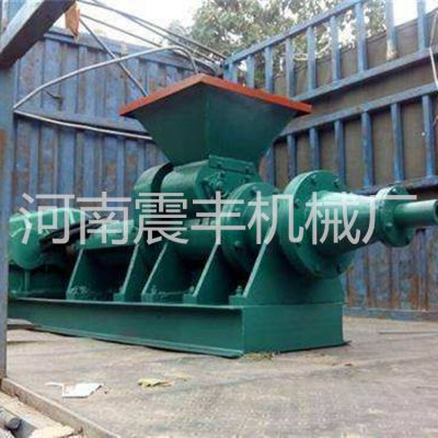 节能环保花生壳制棒机 高压煤粉挤出机 全自动节煤设备 现货 支持定制震丰机械 直销
