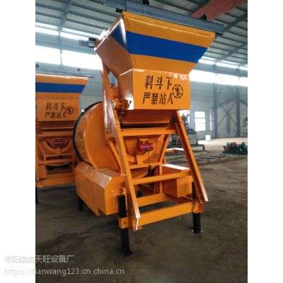 黑龙江鹤岗鑫旺400型四轮摩擦传动自动款搅拌机械