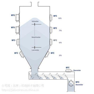 长期供应德国进口Mollet(莫勒特)膜片料位计用于石灰粉仓