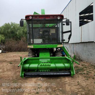 型号齐全大型粉碎秸秆收获机 高效率玉米秸秆收割青储机