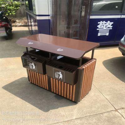 献县鑫建长期供应户外垃圾桶 风景区果皮箱 高档环卫垃圾桶 厂家批发