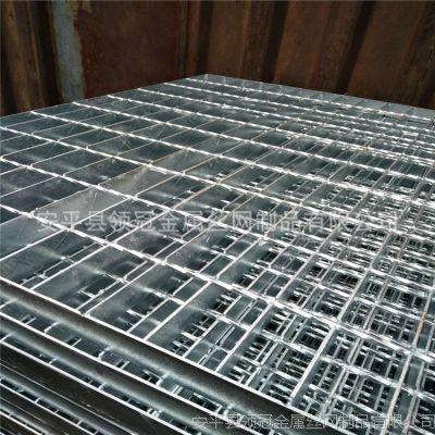 四川达州钢格栅板 达州热镀锌钢格栅板水沟盖板 达州平台钢格栅板403/40/100