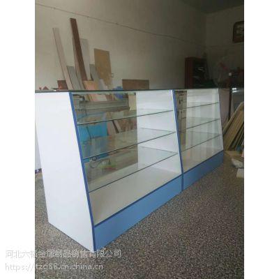 河北六韬展柜厂专业生产药品柜 西药柜 药品货架 铁质药品货架
