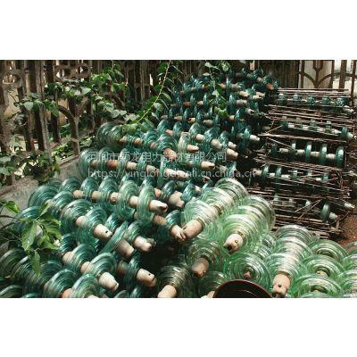 漳州玻璃绝缘子回收厂家 电力施工队拆旧玻璃绝缘子回收厂家价格