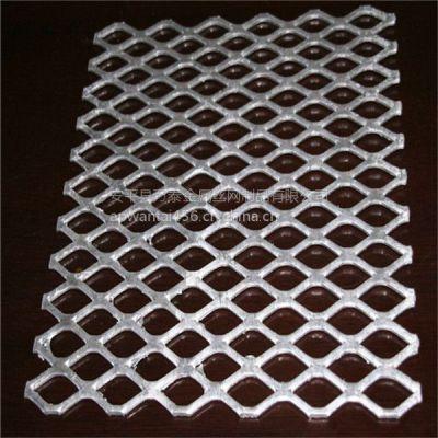 踏板钢板网 万泰装饰菱形网 脚踏钢笆片
