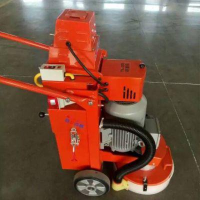 厂家直销自吸式400型打磨机 环氧地坪研磨机 小型电动钢板抛光除锈机 西门子品牌