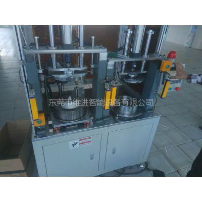 供应wj-zp66全自动壁挂炉风轮插片机
