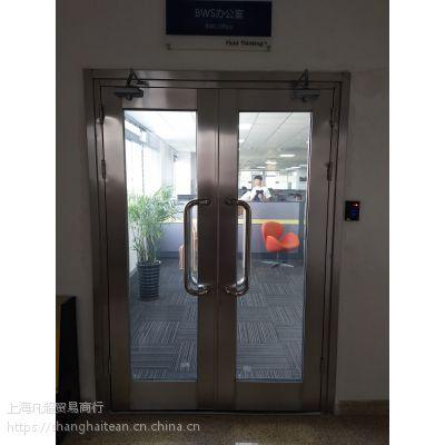 地下车库进户门大玻璃防火门FM1524甲级隔热防火门A类