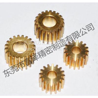 富泽齿轮厂供应新型智能开窗机齿轮加工 滚齿加工0.3~4模数小齿轮