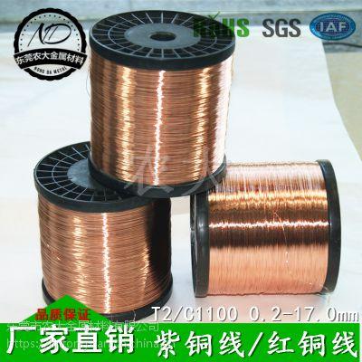 紫铜线供应商 t1紫铜线批发