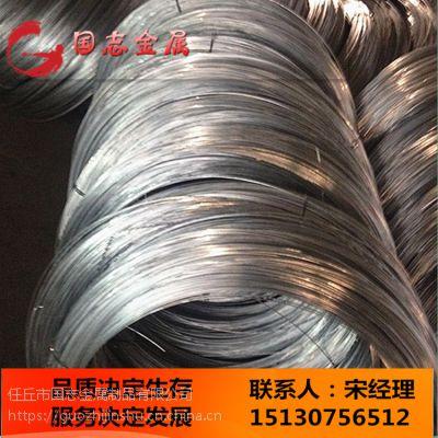 厂家直供热镀锌钢丝、铁丝、黄铁丝