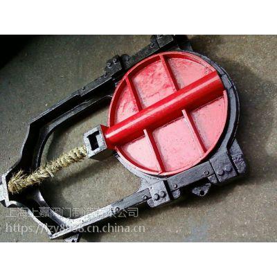 法兰式手动铸铁镶铜圆闸门上海上嘉阀门制造有限公司