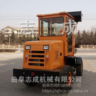 供应机械行走轮式装载机 单臂多用途小铲车 ZL-10两用夹木机