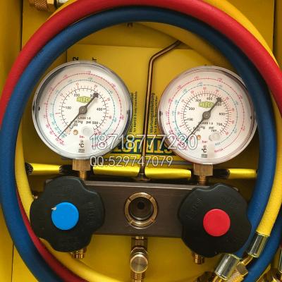 REFCO威科制冷空调加氟表组BM2-6-DS-R32/R410A用雪种表