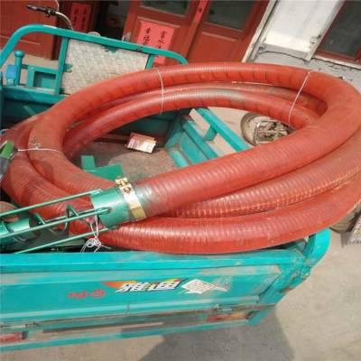 薄利直销新型吸粮机 加大6寸电动吸粮机 润华软管抽粮机