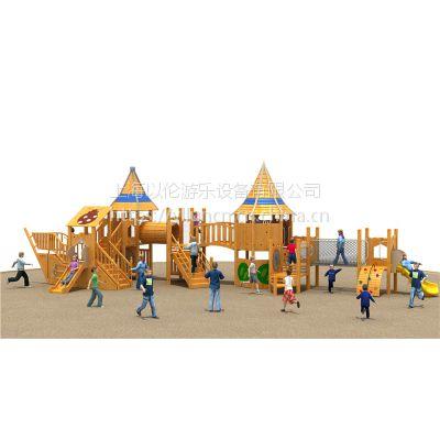上海以伦游乐供应进口木质海盗船组合滑梯YL18-18403幼儿园课桌椅,玩具架,书架,收纳箱等